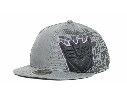 Bio Domes Transformers Oversize Logo Stretch Cap Hats