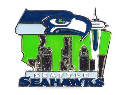 Seattle Seahawks City Pin