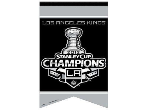 Los Angeles Kings Wincraft 2012 NHL Champ 17x26 Prem. Quality Banner