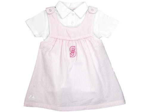 Seattle Mariners MLB Infant Dugout Darling Seersucker Dress
