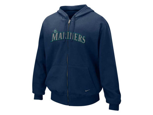 Seattle Mariners Nike MLB Full Zip Tackle Hoody