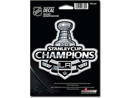 Los Angeles Kings Rico Industries 2012 NHL Champ Die Cut Decal