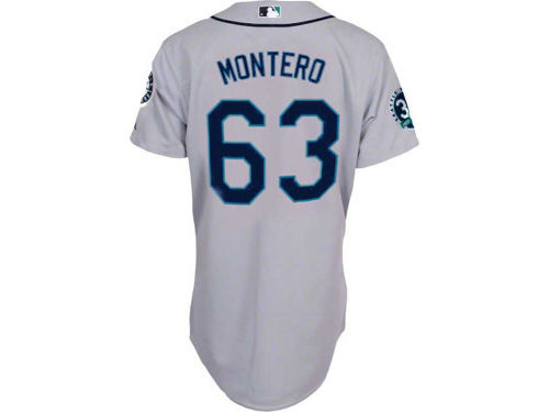 Seattle Mariners Jesus Montero Majestic MLB Player Replica Jersey