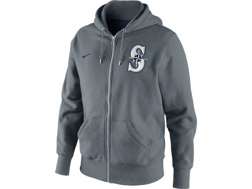 Seattle Mariners Nike MLB SSNL Full Zip Hoodie