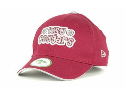 Washington State Cougars NCAA Kids Glitter 9FORTY Cap Hats