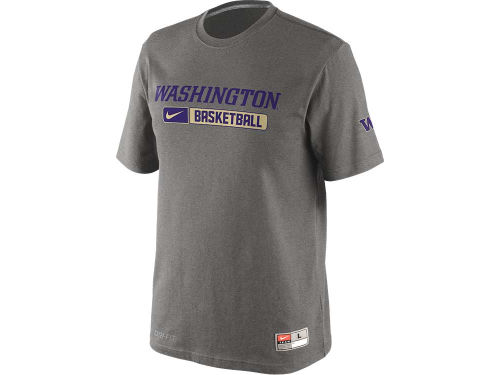 Washington Huskies Nike NCAA Basketball Team Issued Practice T-Shirt