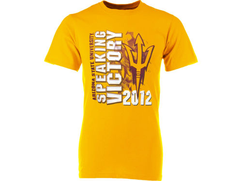 Arizona State Sun Devils NCAA 2012 Youth Game Day Speaking Victory T-Shirt