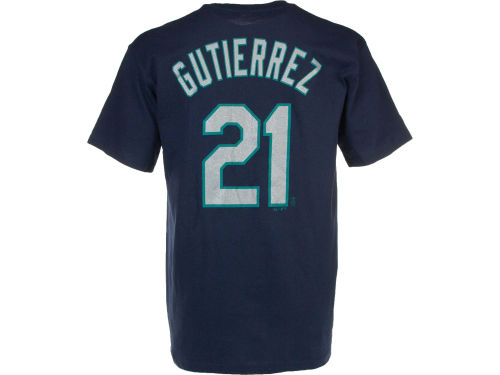 Seattle Mariners Franklin Gutierrez Majestic MLB Men's Player T-Shirt