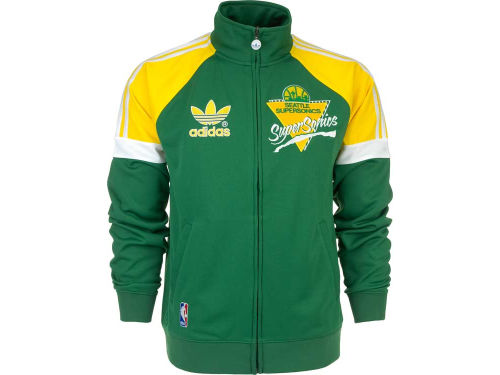 Seattle SuperSonics adidas NBA Court Series Track Jacket