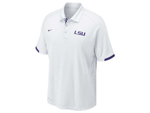 LSU Tigers Nike NCAA Football Training Polo