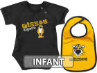 Missouri Tigers Colosseum NCAA Infant Dribble Creeper Bib Set Infant Apparel