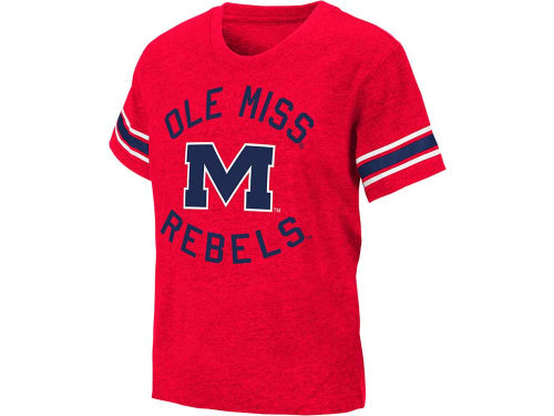 Mississippi Rebels Colosseum NCAA Kids Receiver T-Shirt