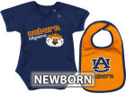 Auburn Tigers Colosseum NCAA Newborn Dribble Creeper Bib Set Infant Apparel
