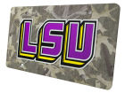 LSU Tigers Camo Laser Tag Auto Accessories