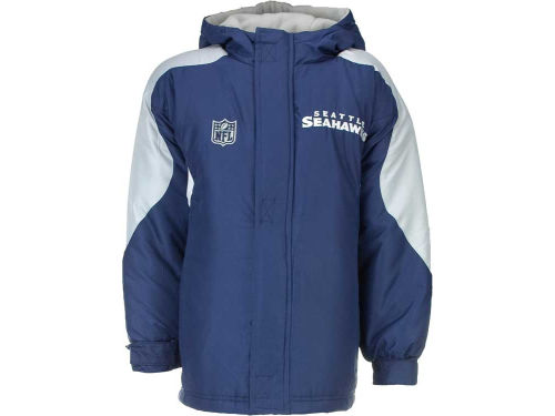 Seattle Seahawks Outerstuff NFL Youth Field Goal Midweight Jacket