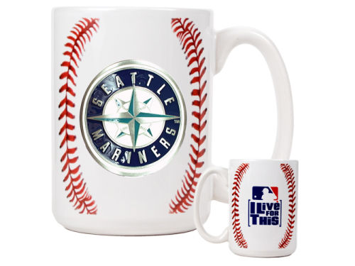 Seattle Mariners Great American Products 15oz Ceramic Ball Mug