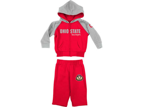 Ohio State Buckeyes Colosseum NCAA Newborn Jump Set