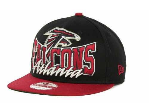 Atlanta Falcons New Era NFL Out And Up Snapback 9FIFTY Cap Hats