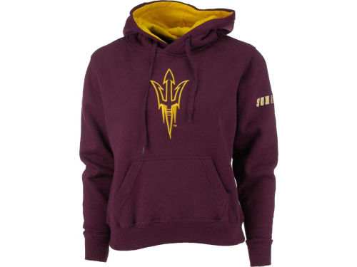 Arizona State Sun Devils Colosseum NCAA Womens Big Logo Hoodie