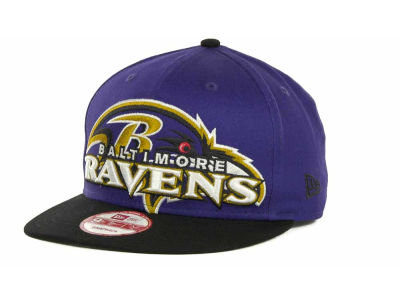 Baltimore Ravens NFL Squared Up Snapback 9FIFTY Cap Hats