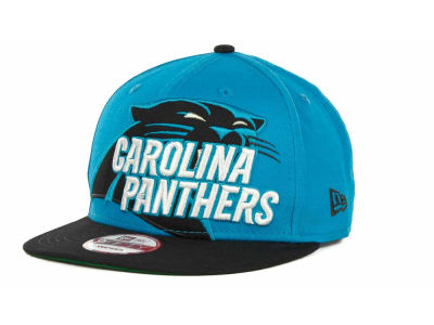 Carolina Panthers NFL Squared Up Snapback 9FIFTY Cap Hats