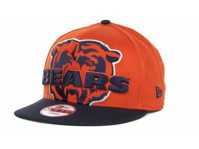 Chicago Bears NFL Squared Up Snapback 9FIFTY Cap Hats