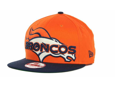 Denver Broncos NFL Squared Up Snapback 9FIFTY Cap Hats
