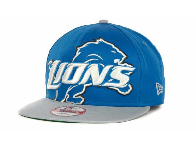 Detroit Lions NFL Squared Up Snapback 9FIFTY Cap Hats