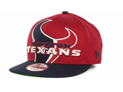 Houston Texans NFL Squared Up Snapback 9FIFTY Cap Hats