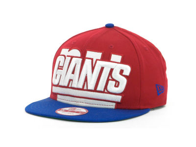 New York Giants NFL Squared Up Snapback 9FIFTY Cap Hats