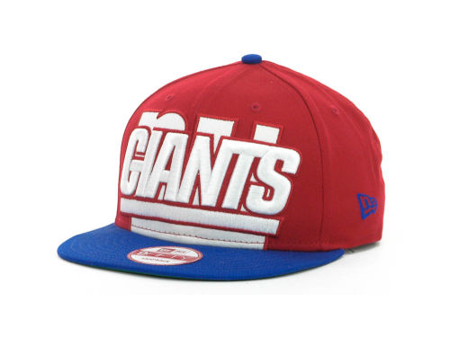 New York Giants New Era NFL Squared Up Snapback 9FIFTY Cap Hats