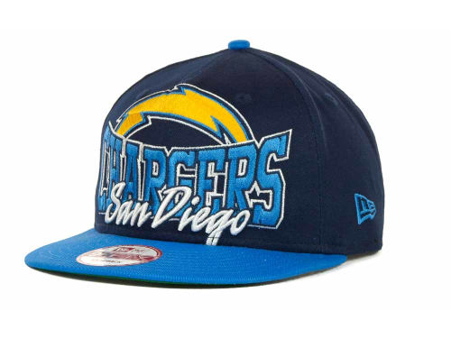 San Diego Chargers New Era NFL Out And Up Snapback 9FIFTY Cap Hats