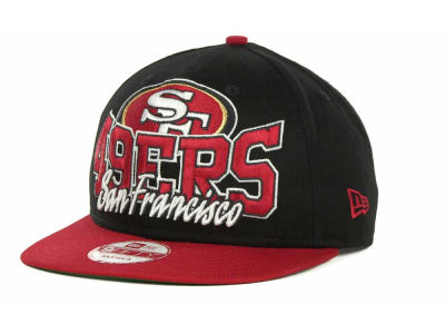 San Francisco 49ers NFL Out And Up Snapback 9FIFTY Cap Hats