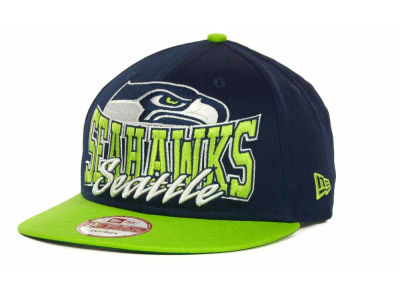 Seattle Seahawks NFL Out And Up Snapback 9FIFTY Cap Hats