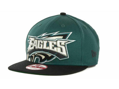 Philadelphia Eagles NFL Squared Up Snapback 9FIFTY Cap Hats