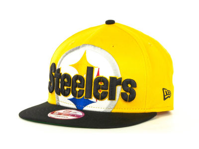 Pittsburgh Steelers NFL Squared Up Snapback 9FIFTY Cap Hats