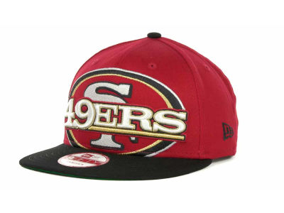 San Francisco 49ers NFL Squared Up Snapback 9FIFTY Cap Hats