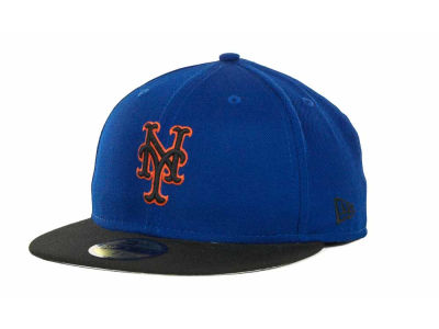New York Mets MLB Retro World Series Patch 59FIFTY Hats