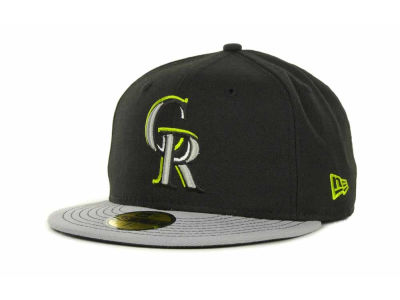 Colorado Rockies MLB Multi Pop 59FIFTY Cap Hats