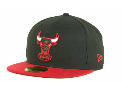 Chicago Bulls NBA Hardwood Classics BC 2 Tone 59FIFTY Hats