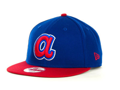 Atlanta Braves MLB Basic Strapback 9FIFTY Cap Hats