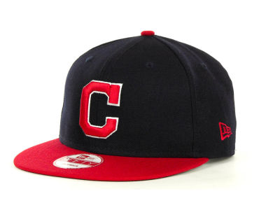 Cleveland Indians MLB Basic Strapback 9FIFTY Cap Hats