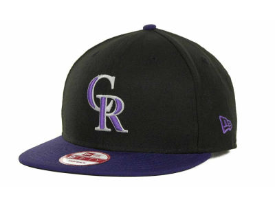 Colorado Rockies MLB Basic Strapback 9FIFTY Cap Hats