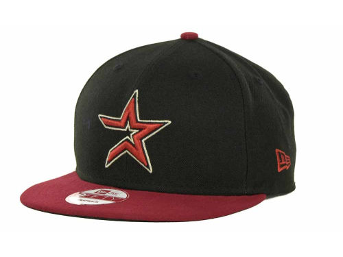 Houston Astros New Era MLB Basic Strapback 9FIFTY Cap Hats