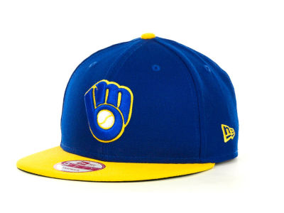 Milwaukee Brewers MLB Basic Strapback 9FIFTY Cap Hats
