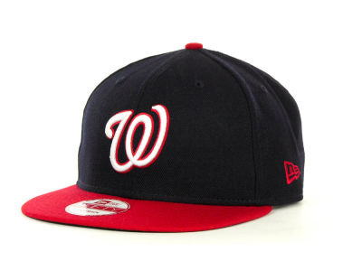Washington Nationals MLB Basic Strapback 9FIFTY Cap Hats