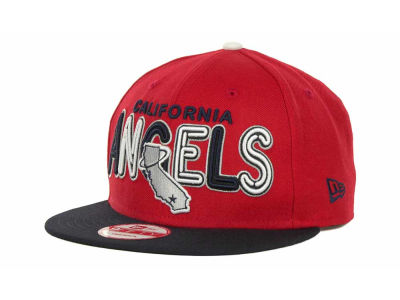 Los Angeles Angels of Anaheim MLB Retro Strapback 9FIFTY Cap Hats