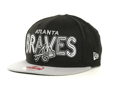 Atlanta Braves MLB Retro Strapback 9FIFTY Cap Hats