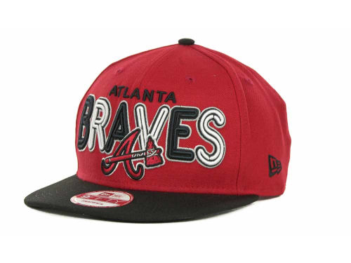 Atlanta Braves New Era MLB Retro Strapback 9FIFTY Cap Hats