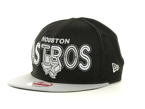 Houston Astros New Era MLB Retro Strapback 9FIFTY Cap Hats